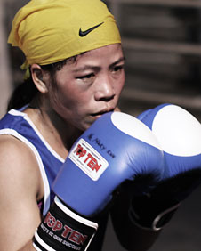 MC Mary Kom, Indian boxer