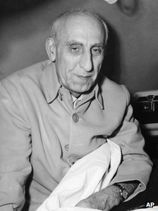 Persian Premier Mohammed Mossadeq, file pic, May 1952