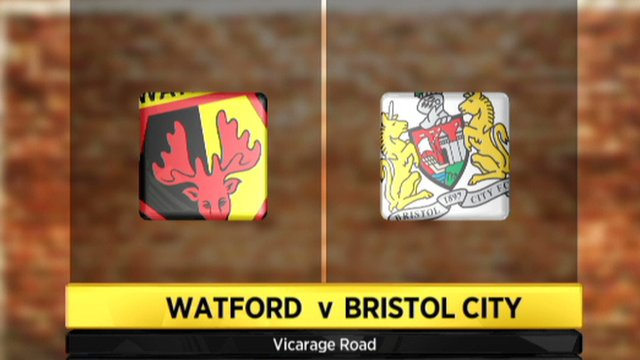 Watford 2-2 Bristol City