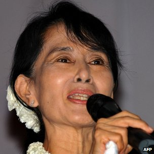Aung San Suu Kyi. Photo: November 2011