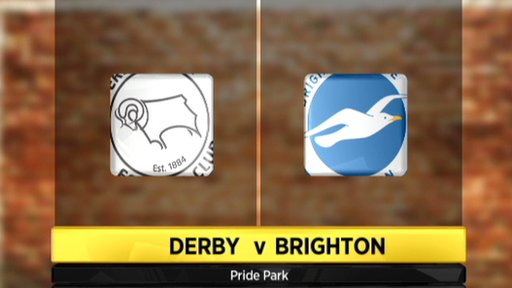 Derby 0-1 Brighton