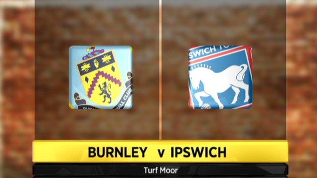 Burnley 4-0 Ipswich