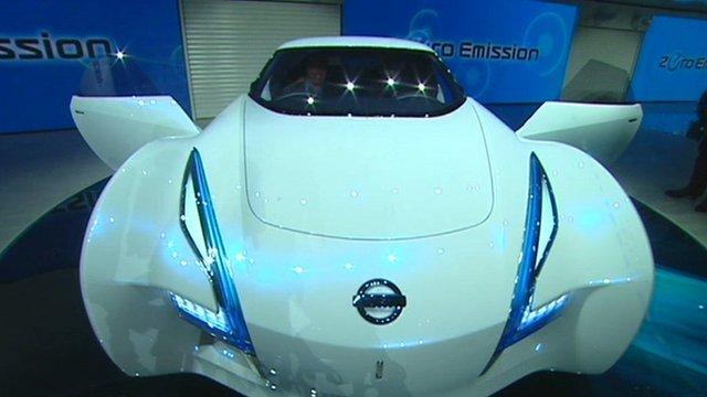 Electric concept car