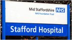 Mid Staffordshire hospital sign