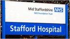 Mid Staffordshire hospital sign