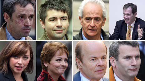 Witnesses at Leveson Inquiry