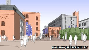 Image of Broadford Works plans