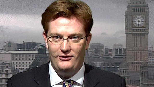 Liberal Democrat Treasury Minister Danny Alexander