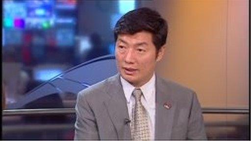 Dr Lobsang Sangay,