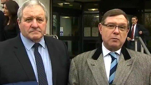 Thomas Page and Geoffrey Bull QC