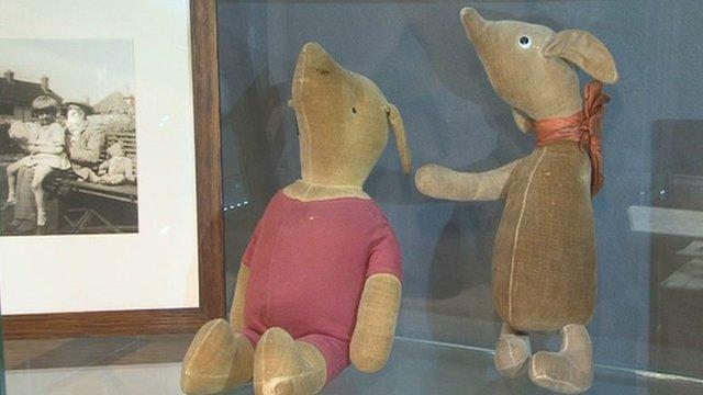 Winnie the Pooh memorabilia