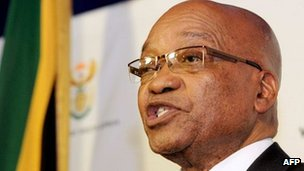 Jacob Zuma (24 October 2011)