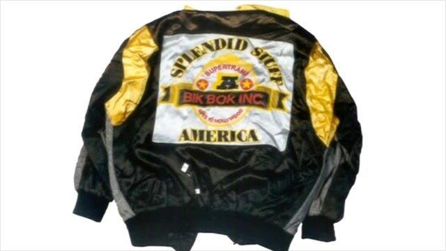 Gary Dobson's jacket