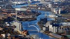 The River Clyde in Glasgow