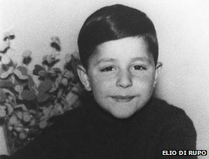 Elio Di Rupo as a child