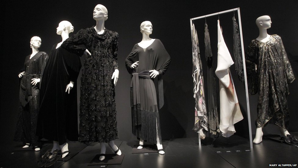 A collection of dresses owned by Elizabeth Taylor