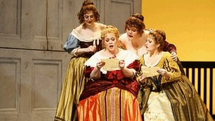 NYCO production of Falstaff (c) Carol Rosegg