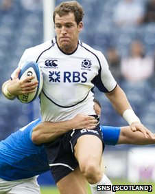 Scotland back Rory Lamont has rejoined Glasgow Warriors