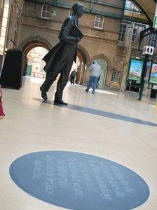 Philip Larkin statute