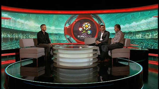 MOTD respond to Euro 2012 draw