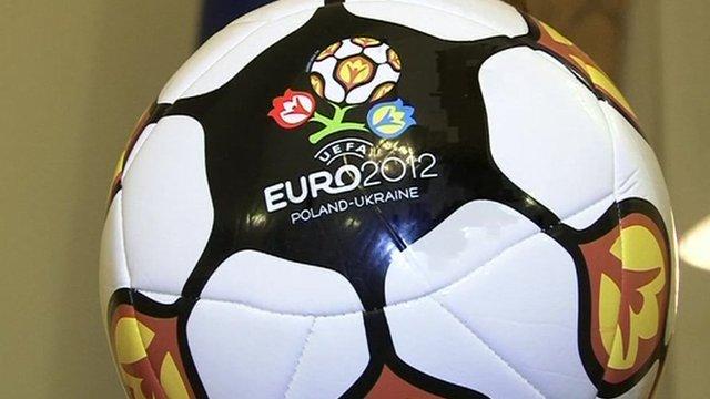 Euro 2012 football logo