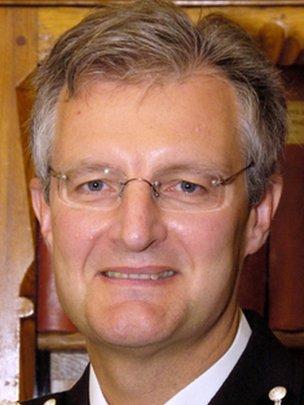 Deputy Chief Constable David Crompton