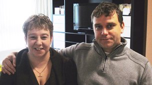 Debbie Taylor and Alan Hinton