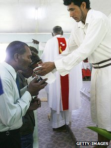 Communion ceremony