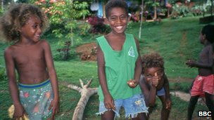 Solomon Islands' children