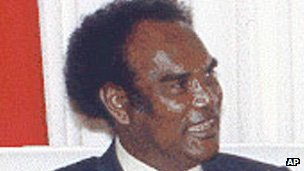 Former Prime Minister Bartholomew Ulufa&#039;alu 