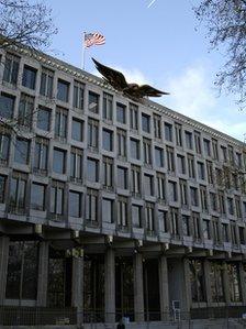 US Embassy in Grosvenor Square