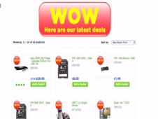 Asda Wow promotion screengrab