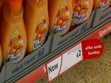 Asda 'Now £2' promotion sign