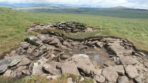 Selside ruins