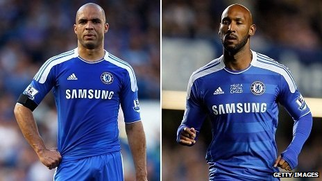 Alex and Nicolas Anelka