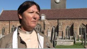 The Reverend Geraldine Baudains