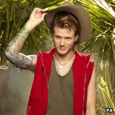Dougie Poynter. Harry Page/ITV/Rex Features/PA Wire