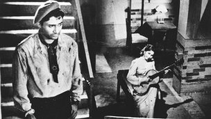 Dev Anand in Baazi (Picture courtesy of Sidharth Bhatia and Navketan)