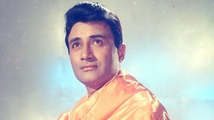 Dev Anand in the 1965 film Guide (Picture courtesy of Sidharth Bhatia and Navketan)