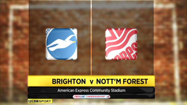 Brighton 1-0 Nott'm Forest