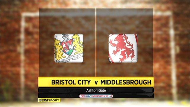 Bristol City 0-1 Middlesbrough