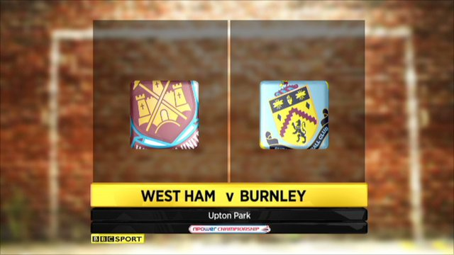 West Ham 1-2 Burnley