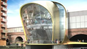 Plans for new entrance at Leeds station