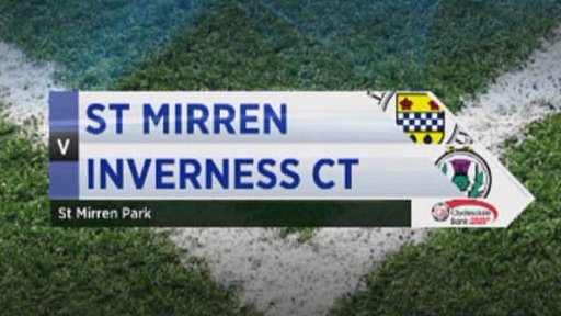 St Mirren v Inverness CT