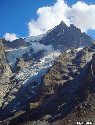 Glacier de la Meije (Ecrins massif)