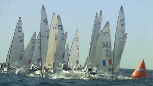ISAF Finn class race