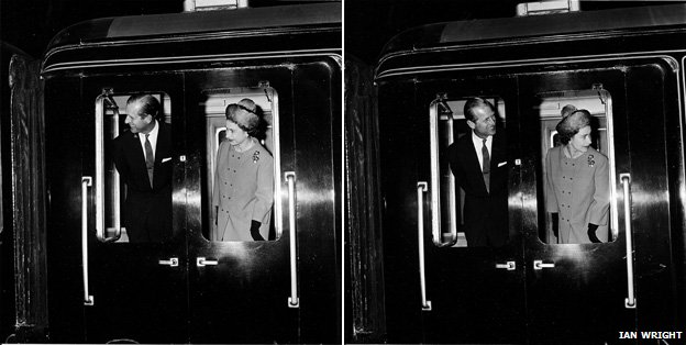 The Queen and the Duke of Edinburgh arrive in Darlington, 1964