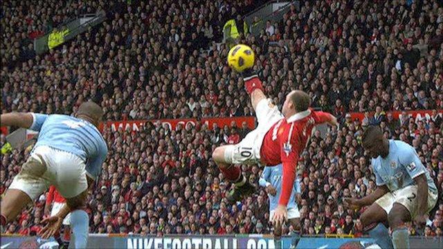 Wayne Rooney Overhead Kick Vs Man City Wayne Rooney