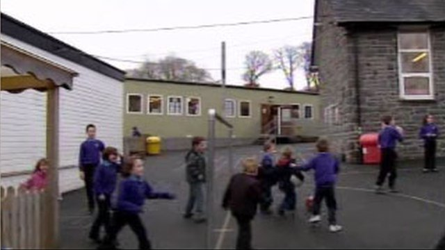 A school playground