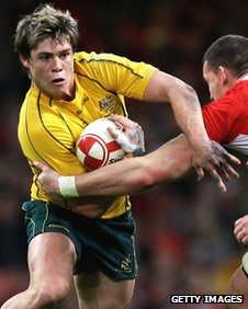 Versatile Australia back James O'Connor